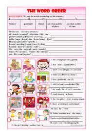 Declarative And Interrogative Sentences Worksheets 417 Free Esl Word Order Worksheets