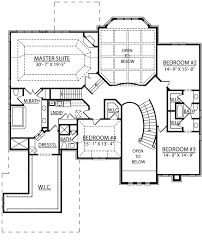 floor plan stairs images of 2 story house plans with curved stairs berkshire