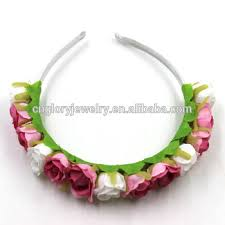 flower hairband high quality flower hairband popular fancy headbands for