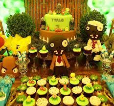 cupcake plants vs zombies decor sc eventos festa