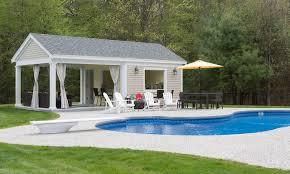 pool houses premier builders