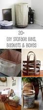 Diy Storage Box by Diy Storage Bins Baskets U0026 Boxes