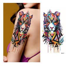 aliexpress com buy new tiger design temporary sticker tattoos