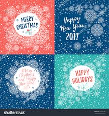 merry happy holidays happy new stock vector 533983138