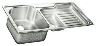 Kitchens Stainless Steel Kitchen Sinks With Drainboard Drop In - Kitchen sinks with drainboards