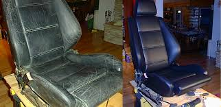 Painting Vinyl Chairs Refinishing Leather Seats