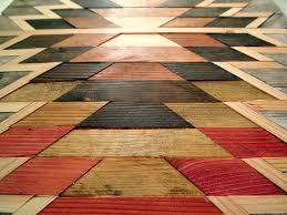 wooden kilim wall artwork wood scraps and