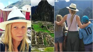 apple martin blue ivy gwyneth paltrow takes kids apple and moses to peru for