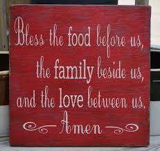 wood sign home decor no vinyl kitchen dining room wall decor