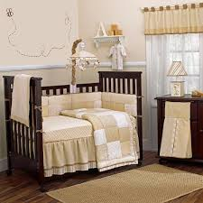 Beige Crib Bedding Set Bedroom Bedroom Interior White Beige Window Valance And Chic