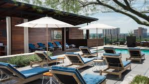 Pool Houses With Bars The Deck Downtown Austin Bars Kimpton Hotel Van Zandt