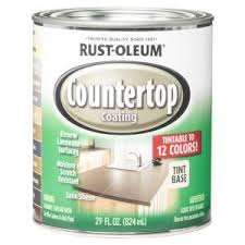 what of paint do you use on formica cabinets rust oleum specialty 29 oz countertop coating tint base 246068 the home depot