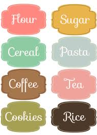 10 best images of baking printable label template free printable