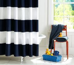 Ruffle Shower Curtain Uk - red and navy stripe shower curtain rugby stripe shower curtain