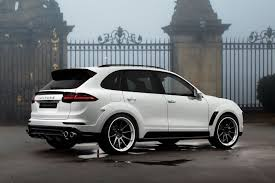 porsche cars white topcar shows off white porsche cayenne vantage 2015 kit