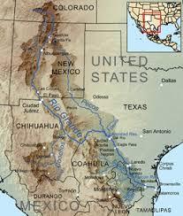 america map of rivers grande