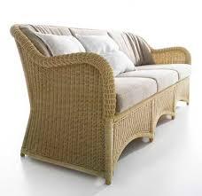 sofa rattan contemporary sofa rattan by gae aulenti 3 seater serra c