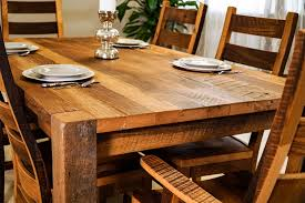 Wooden Dining Room Tables by Timber Ridge Reclaimed Barn Wood Dining Table
