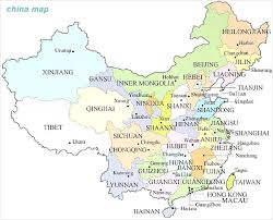 map of china and cities major cities