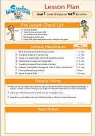 lesson plan template swimming this is the only actual lesson plan i ve found for teaching kids to