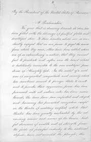 declaration address and november 2012