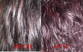 purple rinse hair dye for dark hair relaxer bigen semi permanent hair color review lifestyle blog