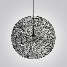 black globe pendant light mini black linen wire globe suspension pendant light takeluckhome com