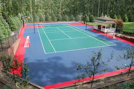 snapsports is the undisputed leading residential backyard court