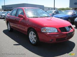 red nissan sentra 2006 nissan sentra 1 8 s special edition in code red photo 4