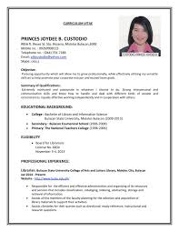 How To Make A Best Resume For Job How To Do A Simple Resume For A Job Free Resume Example And 008
