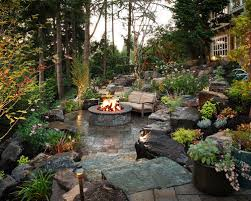 Landscape Fire Pits by Fire Pit Landscaping Houzz