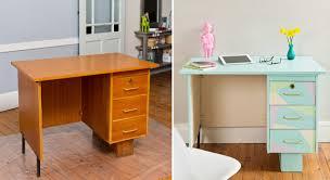relooker un bureau en bois chambre customiser un bureau en bois diy pour customiser un meuble