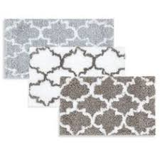Bed Bath And Beyond Bathroom Rug Sets Laura Ashley Pearl Honeycomb Bath Rug Set Of 2