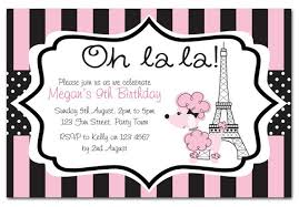 paris themed party invitations marialonghi com