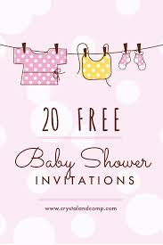 do it yourself baby shower invitations free theruntime