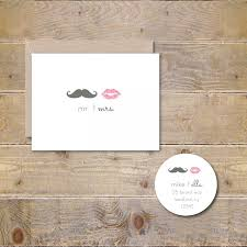 bridal shower thank you cards and mustache wedding thank you cards bridal shower thank