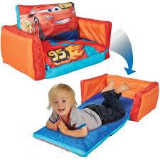 bébé é du canapé lits de bébé 2 en 1 canapé rabattable voiture orange 105x68x26 cm