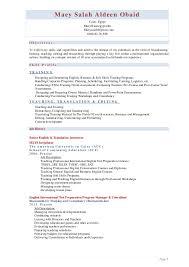 No Job History Resume by Maey Salah Resume