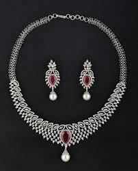 diamond sets images diamond necklace sets