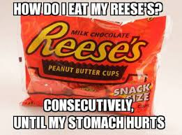 Reese Meme - how do i eat my reeses weknowmemes