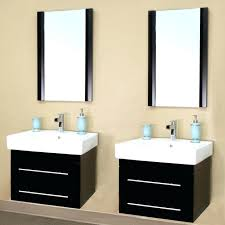 double sink wall hung vanity unit wall hung bathroom cabinets theminamlodge com