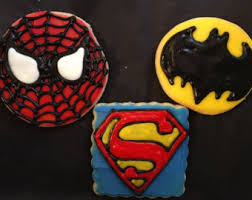 batman cookies etsy