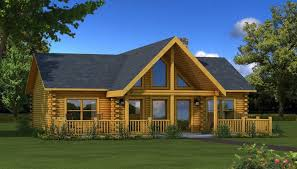 one story log cabin floor plans a great log cabin home for vacation home or year the