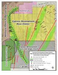 Sparks Nevada Map Dean Lithium Project Nevada Cypress Development Corp
