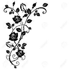 35 best flower tattoo borders images on pinterest flower tattoos