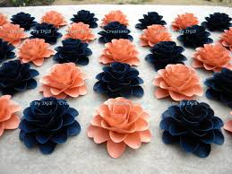 paper light coral or salmon navy for