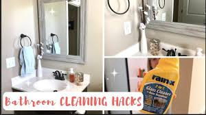 how to always have a clean bathroom 7 genius bathroom cleaning