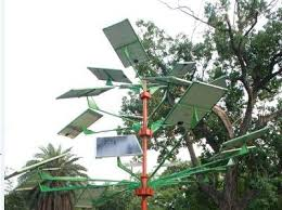 scientists design solar tree to save space for solar power