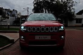 modified jeep 2017 modified jeep compass led headlights