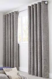 Curtains With Grey Walls Thick Light Grey Color Leaf Pattern Sheer Curtains With Grey And